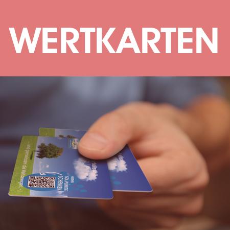 Wertkarten