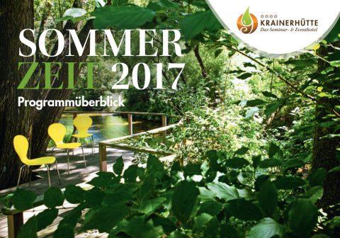 Sommerzeit Krainerhütte 2017