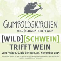2015-11-04 Gumpoldskirchen Aktiv: Wildschwein trifft Wein & Veranstaltungen im Advent – Dagmar Händler