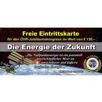 Energie der Zukunft Jubiläumskongress vom 29. bis 30.10.2016