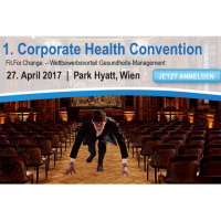 1. Corporate Health Convention am 27.04.2017