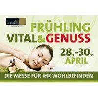 Frühling Vital & Genuss Messe mit Mag. Leopold Kloihofer von 28.-30. April in der Arena Nova