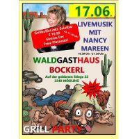 Grillparty mit Live-Musik im Waldgasthaus Bockerl am 17. Juni 2017