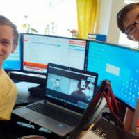 2020-17-04 Pierre, Christo, Christopher und als Gast Andreas Live bei Radio Sol Thema: Künstliche Intelligenz