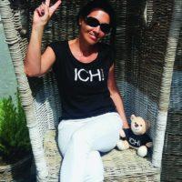 2020-06-29 Menschen mit Botschaft, Claudia Stach, ICH-Shirt