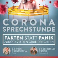2020-11-06 Konstantina Rösch Corona-Update – Sprechstunden und Info-Demo
