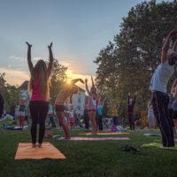 ॐ Yoga im Freien