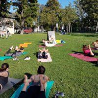 Yoga Schloßpark