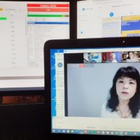 2020-09-21 Ted Mahr mit Michiko Hayashi