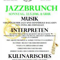 Jazzbrunch 22. Mai 2016