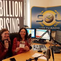 2017-02-07 One Billion Rising am 14. Februar mit Kristina Riedl und Christine Hallas