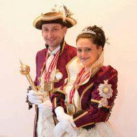 2017-02-15 MöMö – Fasching in Mödling, Das Herzogspaar Heinrich XVIII. & Sonja I