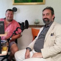 "2017-08-01 ""Theater im Bunker"" – Prof. Bruno Max, Intendant Stadttheater Mödling"