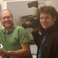 "2016-09-05 Benjamin Mühlbacher & Herbert Wagner, Sendestart des Kabel-TV-Senders ""Donaukanal"""