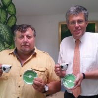 2018-07-10 Bürgermeistergespräch mit Martin Schuster Bgm von Perchtoldsdorf