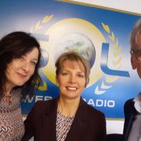 2020-10-07 Vivienne Posch zu Gast bei Welt der Frau mit Elisabeth Körber & Gerhard Pellegrini auf Radio SOL