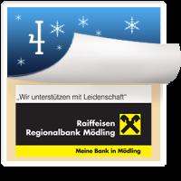 2016-12-05 Türchen Nr. 4 Raiffeisen Regionalbank Mödling – Manuela Waldum; Fritz Feher