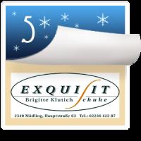 2016-12-05 Türchen Nr. 5 Exquisit Schuhe Mödling – Brigitte Klutich