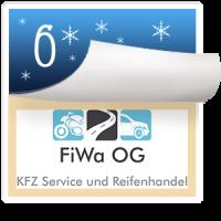 2016-12-06 Türchen Nr. 6 FiWa KFZ-Service & Reifenhandel Mödling, Studiogast Erik Wagner