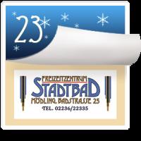 2016-12-23 Türchen Nr. 23 Stadtbad Mödling – Betriebsleiter STR Robert Mayer