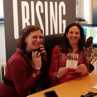 2017-02-07 One Billion Rising mit Kristina Riedl und Christine Hallas