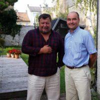 2017-08-22 Bürgermeistergespräch: Dr. Andreas Linhart – Bgm. Brunn am Gebirge