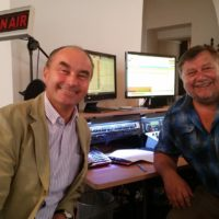 2018-09-04 Bürgermeistergespräch mit Dr. Andreas Linhart Bgm von Brunn am Gebirge