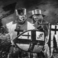 "2017-08-08 ""Mittelalterfest in Wr. Neudorf"" – Bgm. Stv. Robert Stania"