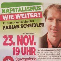 """2017-11-13 Telefoninterview: Fabian Scheidler – Buchpräsentation """"Chaos. Das neue Zeitalter der Revolutionen"""" am 23.11. in Mödling"""