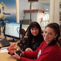 2017-12-05 Silvia und Kim Halfar, Boutique Kim