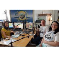 2018-06-26 Stuiogäste- Brigitte Haunzwickl und Martin Rischka- Hilfe zur Selbsthilfe für Frauen in Kenia