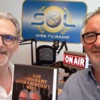 2021-06-10 Robert Sommer, Satiriker, Buchvorstellung Wie man unverschämt reich und berühmt wird