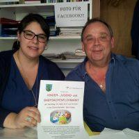2017-03-17 Vöslau AKTIV – Kinderflohmarkt mit Betty Gschaider & Robert Sunk