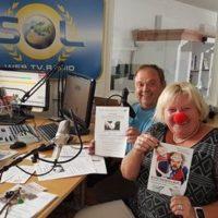 2017-09-15 Vöslau AKTIV: Anita Tretthann & Robert Sunk – Rote Nasen Lauf, Familienfreundliche Gemeinde & Anlaufstelle Palliativpflege